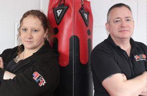 Founders of ARO fitness kickboxing